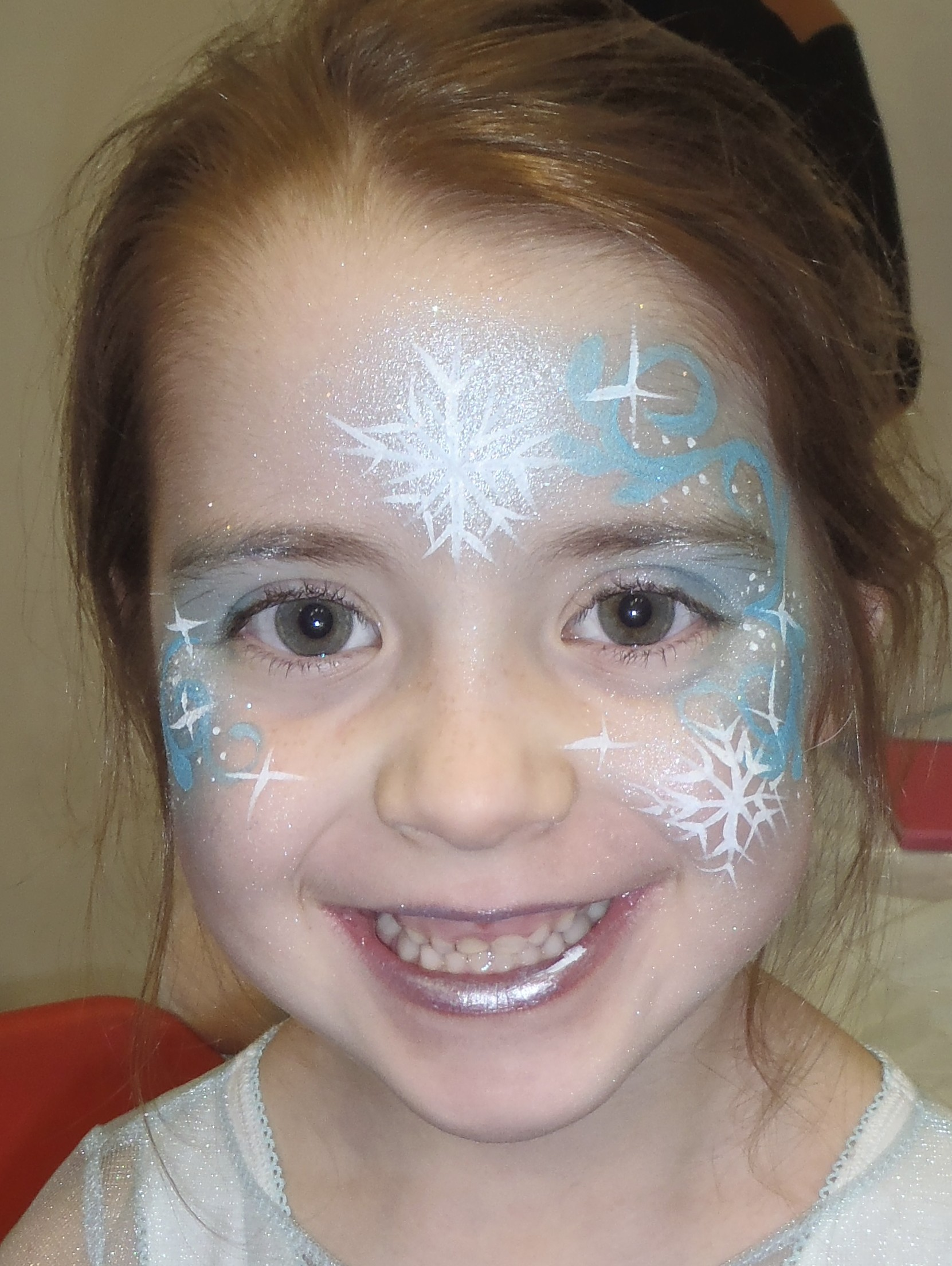 Face Painting Frozen Elsa Elsa Frozen Face Paint